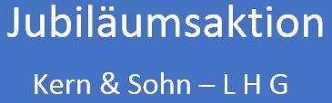 Kern&Sohn-LHG Jubiläumsaktion