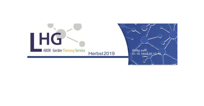 LHG Flyer -gültig bis 31.12.2019-